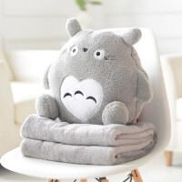 抱枕被子两用午睡枕多功能个性可爱靠垫靠枕办公室枕头空调毯
