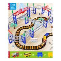 儿童拖马斯小火车套装带轨道车玩具电动充电男孩子过山车3-6岁托抖音