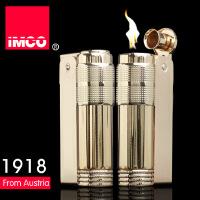 IMCO 爱酷品牌 金属煤油防风打火机 时尚复古礼品火机 LOGO全套仿金