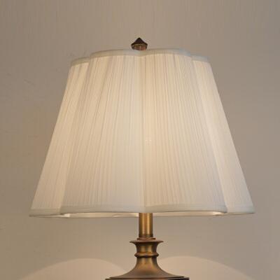 灯罩外壳配件布艺米白色梅花落地灯台灯大号客厅卧室田园床头欧式