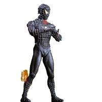 漫威超凡蜘蛛侠归来返校季模型公仔玩具复仇者联盟2蜘蛛网 关节可动