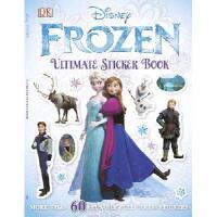 Ultimate Sticker Book: Frozen英文原版冰雪奇缘贴纸书