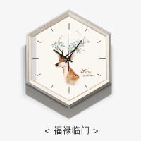 【支持礼品卡】北欧挂钟客厅家用个性创意时尚现代简约石英时钟大气卧室静音钟表4tj
