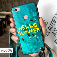 vivov3手机壳步步高v3max保护套vivi祖母绿vovoXPLAY5硅胶6磨砂viox6个性m X6 hello