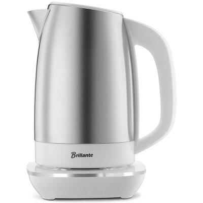 恒温调奶器不锈钢煮水电水壶 恒温水壶冲泡奶粉奶机温奶器a464 升级触控版1.7L 304不锈钢
