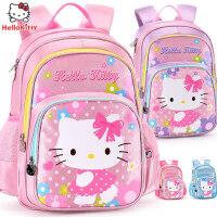 hellokitty小学生卡通女童书包1-3-4年级6-12岁女孩儿童双肩背包