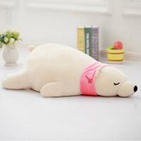 萌北极熊毛绒玩具可爱趴趴熊睡觉抱枕抱抱熊女生娃娃公仔韩国女孩