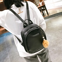 新款复古小双肩皮包女式休闲包百搭简约英伦学生背包校园包潮