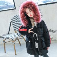 №【2019新款】冬天儿童穿的女童棉衣冬装韩版洋气外套加厚棉袄中长款大儿童羽绒