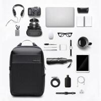 时尚休闲书包 男士大容量多功能旅行电脑15.6寸14双肩包男商务背包
