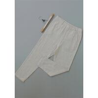 [90-209]亚麻男装裤子男士休闲裤0.37