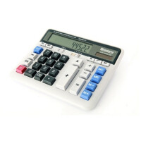 大按键 键盘式 晨光文具 98117 大屏幕计算器 办公用品