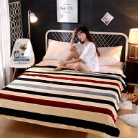 亲肤法莱绒毛毯床单珊瑚绒毯子午睡午休毯宿舍单人双人垫毯床单
