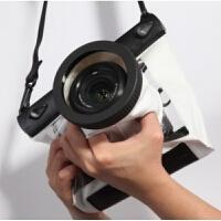 高清单反相机防水袋佳能70D 600D 5D3 700D单反防水套罩潜水20米