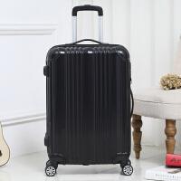 新款复古铝框拉杆箱万向轮旅行皮箱包女20英寸行李箱外出休闲登机箱密码防盗托运箱子