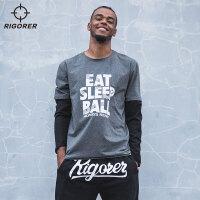 准者新款宽松运动圆领卫衣 篮球休闲时尚长袖套头卫衣