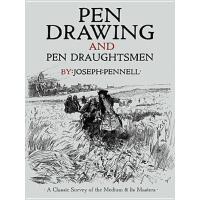 【预订】Pen Drawing and Pen Draughtsmen: A Classic Survey of th