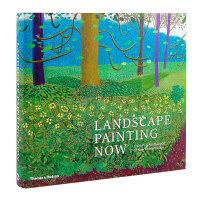 T&H出版 英文原版 Landscape Painting Now 当代风景画:从流行抽象到新浪漫主义 Barry Sc