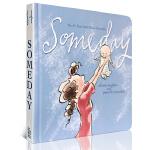 英文原版绘本 纽约时报佳畅销书 Simon & Schuster 感动亿人的母爱诗篇 小S温情推荐 Someday 有