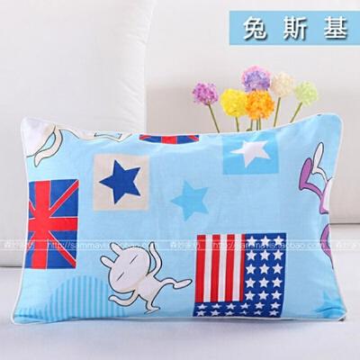 儿童枕头幼儿园小孩学生1-3-6岁卡通宝宝午睡枕芯 送枕套