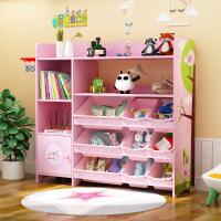 儿童玩具收纳架幼儿园超大容量多层卡通玩具置物架玩具架子收纳架