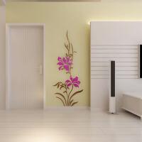 亚克力3d立体墙贴家装饰品客厅卧室过道电视背景墙壁纸贴画