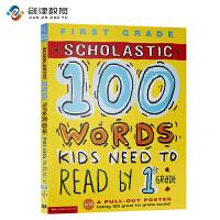 英文原版 100 Vocabulary Words Kids Need To Read By 1st Grade 课外