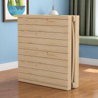 折叠床单人床1.2米简易床儿童午休床双人家用实木板式床小床