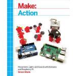 【预订】Make: Action: Movement, Light, and Sound with Arduino a