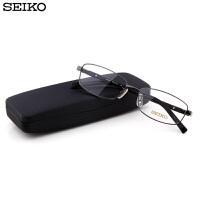 精工镜架 男士商务超轻镜框配近视眼镜框 全框眼镜架H01117