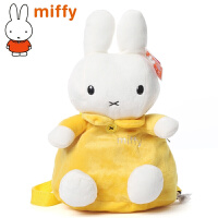 米菲小兔子可爱卡通儿童背包 幼儿园书包 宝宝双肩毛绒背包女童