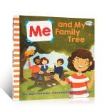 【顺丰速运】英文原版童书 幼儿启蒙认知读物 Me and My Family Tree 吴敏兰推荐123绘本 Joan