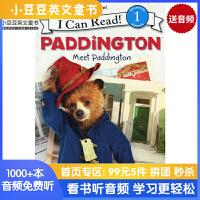英文原版 Paddington: Meet Paddington 遇见帕丁顿熊[4-8岁]