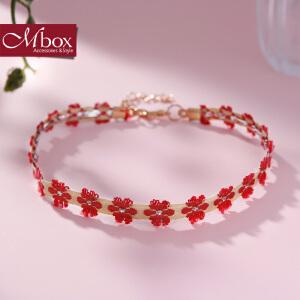 新年礼物Mbox项链 女款韩国版采用波西米亚风choker锁骨项链颈链 少女心事