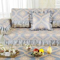 欧式沙发垫客厅现代简约四季通用型布艺防滑全包�f能套坐垫罩巾