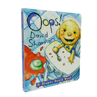 英文原版 OOPS!: A DIAPER DAVID BOOK [2-5岁]