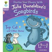 英文原版 Oxford Reading Tree Songbirds: Top Cat and Other Stori