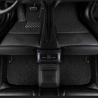 适用于18款奥迪AL6脚垫2018款奥迪A4L脚垫A6L A4L全包围脚垫改装 加标 二合一 黑色