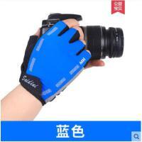 男女户外防滑骑行半指手套士夏季薄运动健身哑铃训练透气手套