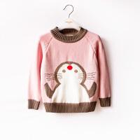 女童毛衣儿童套头针织衫加厚 中大童冬装新款中大童装