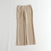 高质长裤 通勤ol气质干练简约微弹秋款直筒裤子 6