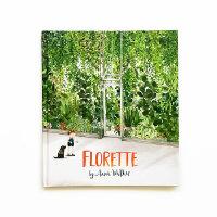 预售 英文原版 《纽约时报》 2018年度绘本 弗洛雷特 Florette by Anna Walker