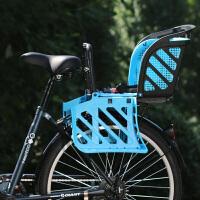 自行车座椅后置电动车儿童座椅山地车婴儿宝宝安全坐椅子