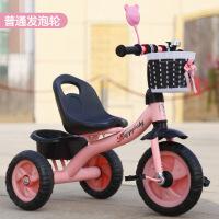 儿童三轮车宝宝小车子男童小童手推车绿1-3岁能骑2娃娃脚踏车幼儿