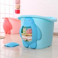 宝宝浴桶儿童洗澡桶新生儿浴盆可坐沐浴桶保温小童泡澡桶加大