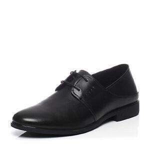 Belle/百丽夏季专柜同款牛皮商务正装男皮鞋4UW01BM7