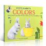 【全场300减100】【送音频】英文原版 White Rabbit's Colors color book 白兔的颜色 新版 吴敏兰绘本123 儿童颜色启蒙 平装绘本 color