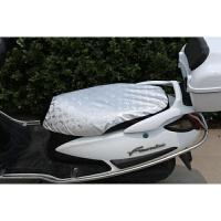 电动摩托车座垫套四季踏板车电瓶车座套防晒防水防雨坐垫男女通用SN2008