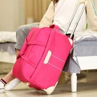 旅行包女手提大容量拉杆包男可折叠行李包旅行袋防水待产包储物包