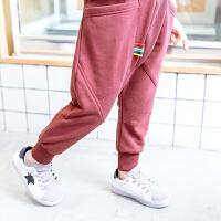 小男孩运动裤新款春秋装长裤韩版男童裤子宽松修身潮